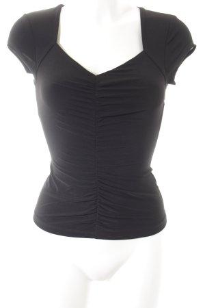 Guess Camiseta negro elegante