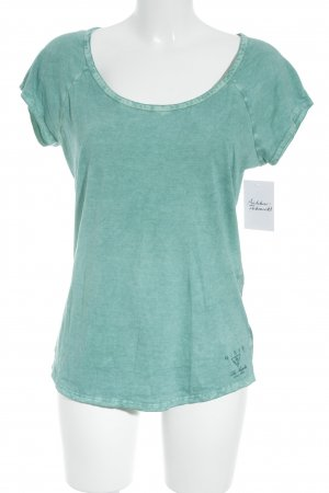 Guess Camiseta turquesa look casual