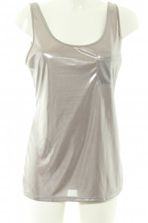 Guess Tank Top silver-colored elegant