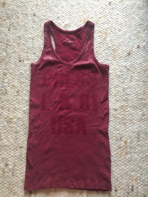 Guess Tanktop in weinrot