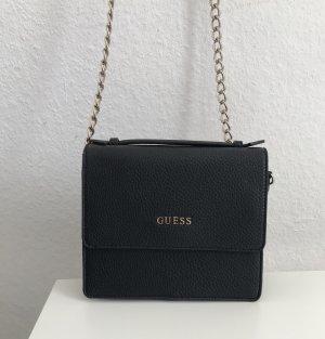 Guess Gekruiste tas zwart-goud