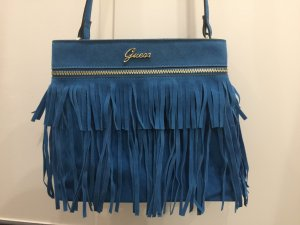 Guess Fringed Bag turquoise-blue