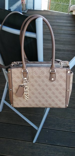 Guess Handbag light brown-beige