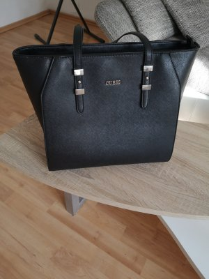Guess Carry Bag black imitation leather