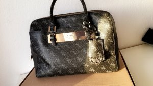 Guess Bolso marrón-negro