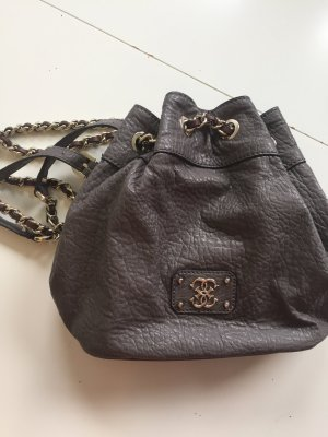 Guess Bolso gris-color oro