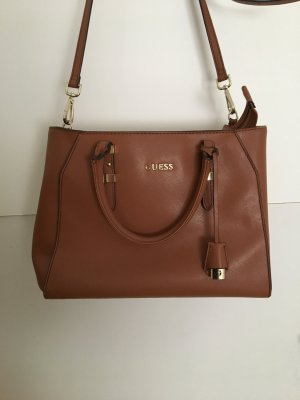 Guess Carry Bag brown-cognac-coloured