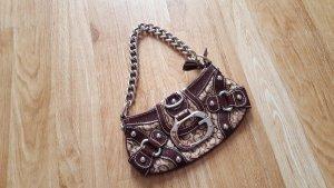 Guess Tasche braun mit Metallhenkel