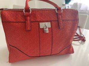 Guess Shopper brick red