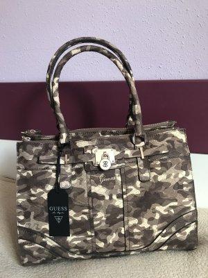 GUESS Tasche Henkeltasche Handtasche Greyson Camouflage PG493023 NEU