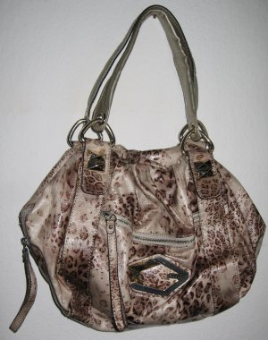 Guess Tasche Leomuster Lack