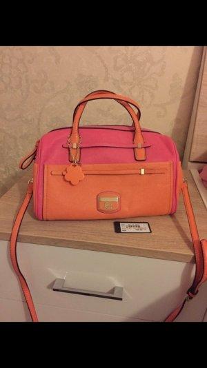 Guess Borsetta arancione-rosa