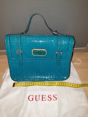 Guess Shoulder Bag turquoise-petrol