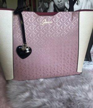 Guess Tasche pink beige