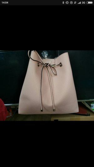 Guess Turn Bag pink-light grey