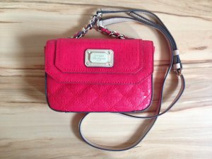 Guess Tasche Rot Klein (L18xB4xH12) mit Gürtel - wie neu