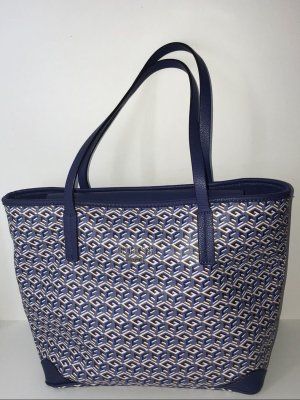 Guess Shopper blue imitation leather