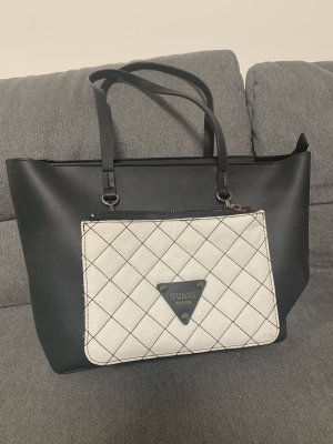 Guess Shopper black-silver-colored
