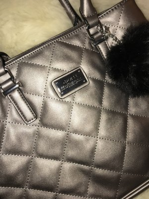 Guess Frame Bag silver-colored