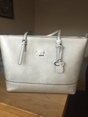Guess Carry Bag light grey metal