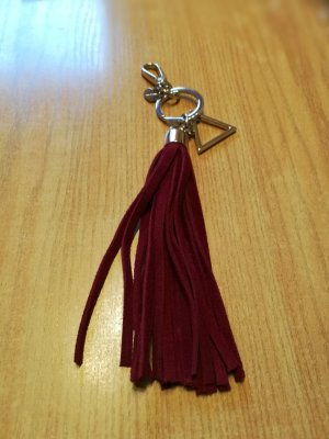 Guess Key Chain bordeaux