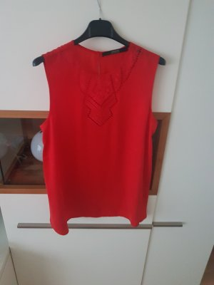 Guess Top rojo ladrillo