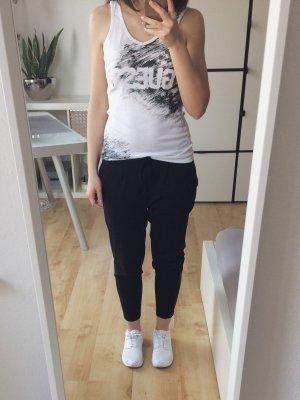Guess Canotta bianco-nero Cotone