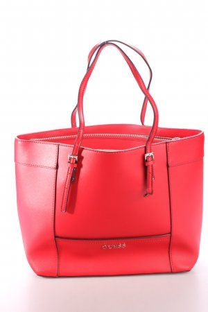 "Guess Tote ""Delaney Med Classic Tote Red"" rot"