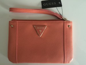 GUESS TRACY CORAL CLUTCH NEU OVP