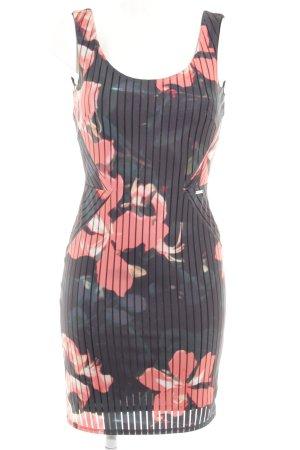 Guess Vestido tipo overol estampado floral elegante
