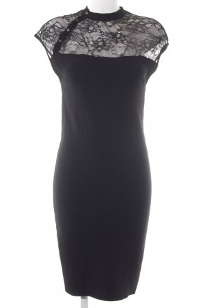 Guess Trägerkleid schwarz Blumenmuster Elegant