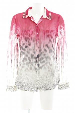 Guess Blusa transparente degradado de color estilo extravagante