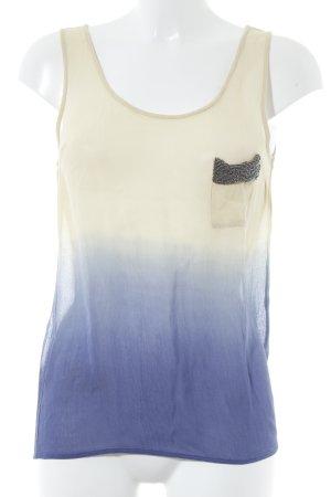 Guess Blusa transparente multicolor estilo extravagante