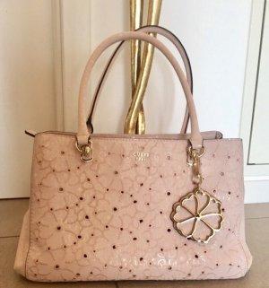 GUESS,  traumhafte Handtasche mit Blütenstickerei