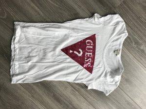Guess Tshirt Gr. M mit Paillettenapplikation