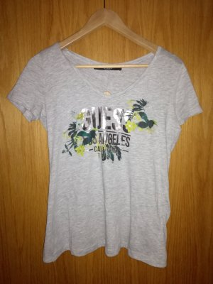 Guess T-Shirt silver-colored-forest green
