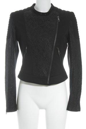 Guess Übergangsjacke schwarz minimalistischer Stil