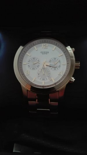 Guess Uhr Gold Metallband