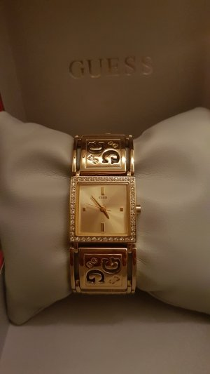 Guess Uhr Gold mit Strass