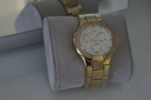 GUESS Uhr Handuhr Damen gold