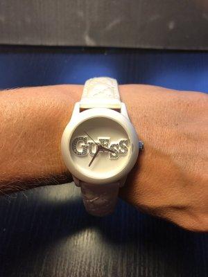 Guess Reloj crema-blanco