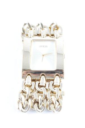 Guess Orologio con cinturino di metallo oro effetto bagnato