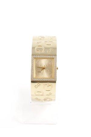Guess Orologio con cinturino di metallo oro stile classico