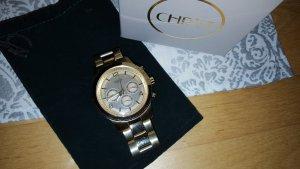 Guess Uhr mit Ziffernblatt in gold