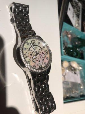 Guess Analoog horloge zilver
