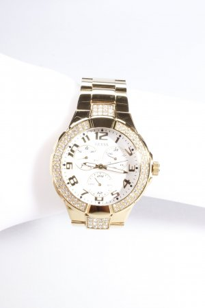 Guess Uhr Prism Sport Steel Gold Strass