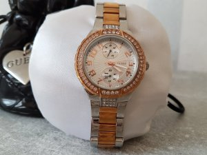Guess Reloj color plata-color rosa dorado