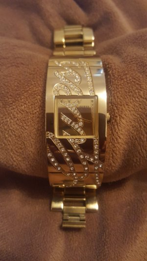Guess Orologio con cinturino di metallo oro