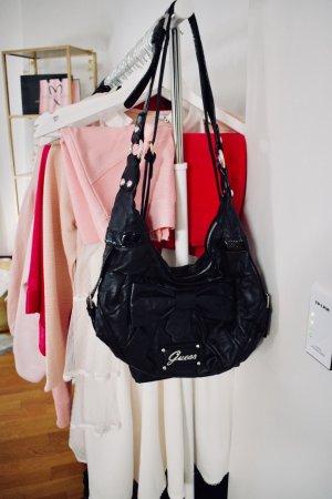 Guess Crossbody bag black-silver-colored