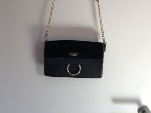 Guess Crossbody bag black-gold-colored
